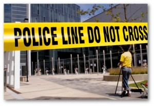 Police Line Do not cross - Workplace Violence - Be prepared